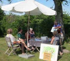 Undervisning i haven