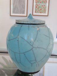 Jens Hostrup: Raku-keramik
