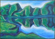 Grøn Fjord – indtryk fra Færøerne 2005