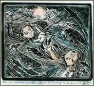 Den forældreløse pige kastes i havet